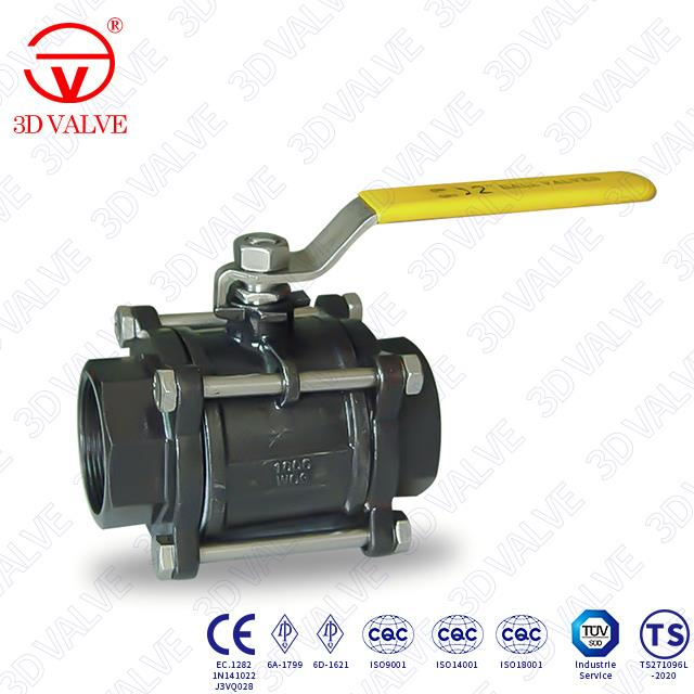3 Piece Floating Ball Valve