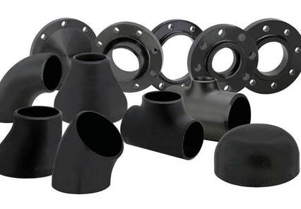 STEEL PIPES FITTINGS & FLANGES