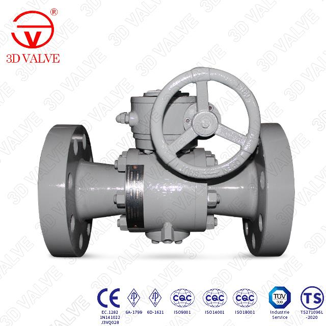 Forged Steel Reduced Port Ball Valve