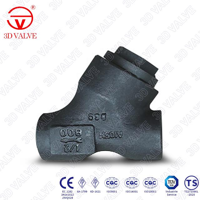 Forged Steel Strainer