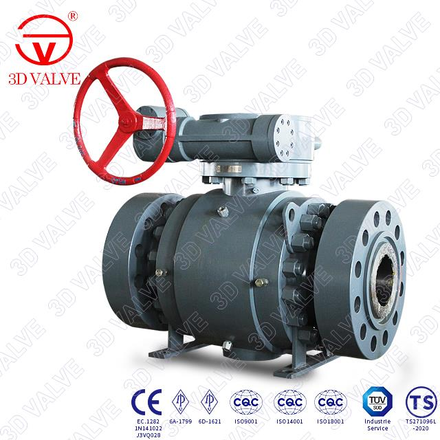 High Pressure Trunnion Ball Valve