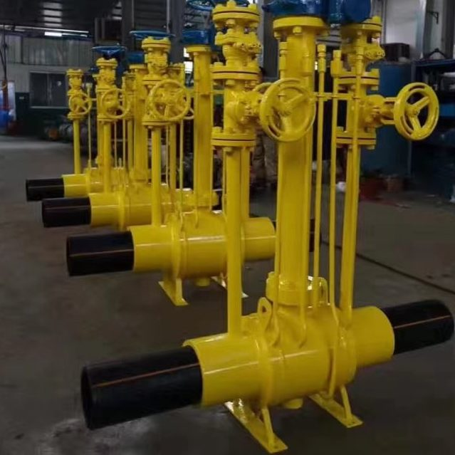 Natural Gas PE Pipe Connecting Ball Valve