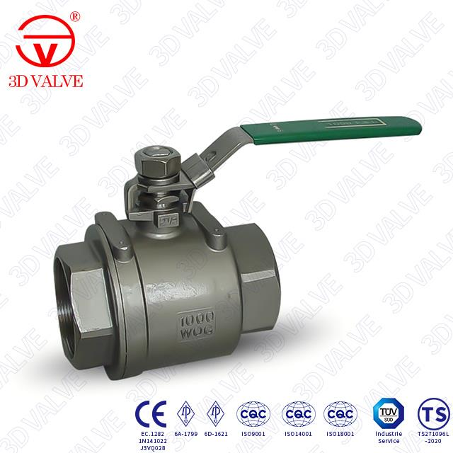 NPT End Floating Ball Valve